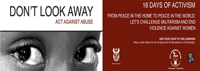 16 Days of Activism for No Violence Against Women and Children