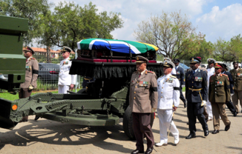 Special Official Funeral service of the late Dr Zola Skweyiya