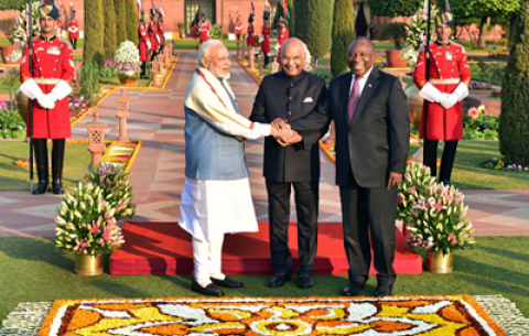 President Ramaphosa's State Visit to India