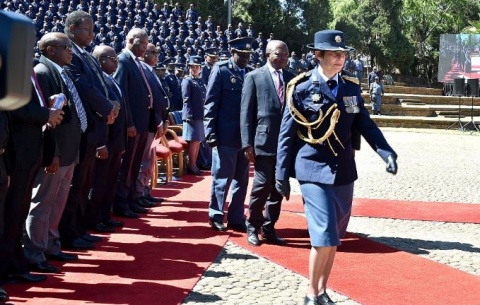 The annual SAPS Memorial is held at the Union Buildings to remember officers slain in the line of duty.
