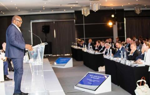 Gauteng Premier David Makhura at the Southern Africa-Europe CEO Dialogue