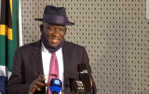 Police Minister Bheki Cele briefs media on violent protests in parts of KZN and Gauteng.