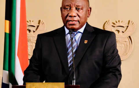 President Cyril Ramaphosa addresses the nation on developments in the country's response to the COVID-19 pandemic