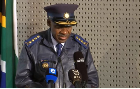 National Police Commissioner General Khehla Sitole briefs media on violent protests in parts of KZN and Gauteng.
