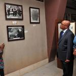 President Zuma during a tour of Kwame Nkrumah Mausoleum Museum. Source: GCIS