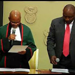 Swearing in of Cyril Ramaphosa as South Africa's President