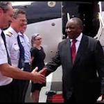 President visits Angola.