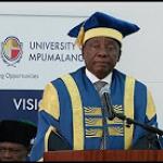 Graduation ceremony at the University of Mpumalanga