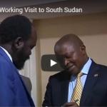 Deputy President's working visit to Sudan.