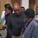 President Jacob Zuma celebrates the International Day of Older Persons