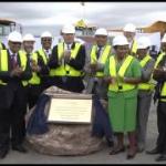 President Jacob Zuma launches construction phase of De Beers Venetia Underground Diamond Mine