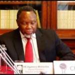 Deputy President Kgalema Motlanthe visits London