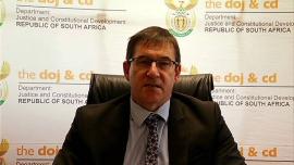 Justice and Constitutional Development Deputy Minister John Jeffrey.