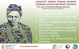 South Africa launches initiative to empower women, girls in Africa