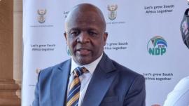 Minister in the Presidency, Mondli Gungubele.