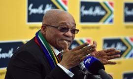 President Zuma will address the nation on 11 February