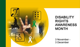 Disability Rights Awareness Month