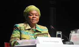 Gauteng Health MEC Gwen Ramokgopa. SANAC
