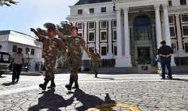 President Zuma has authorised the deployment of 441 members of SANDF to Parliament