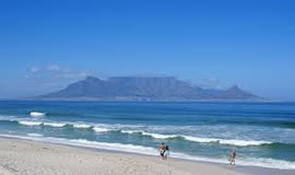 Table Mountain in Cape Town is one of the favourite sites among local and international tourists