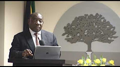 Deputy President Cyril Ramaphosa receives Regenesys Business School Lifetime Award for Leadership