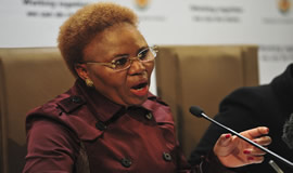 Small Business Development Minister Lindiwe Zulu has condemned the looting of small businesses that followed as a result of protests in the City of Tshwane.Supplied